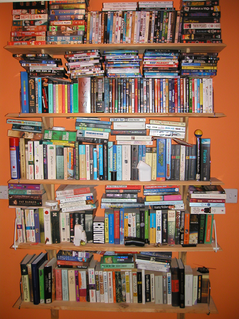 Hall shelving